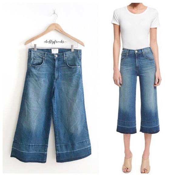 McGuire Denim Denim - McGuire Denim ∙ Bessette High-Waist Culotte Jeans